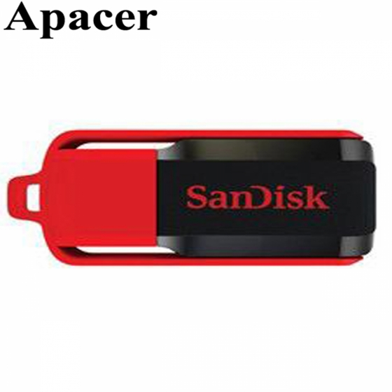 Флешка USB 16GB SanDisk Cruzer Switch (USB 2.0, Black)