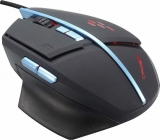 Мышь CrownMicro CMG-02 Blue, Gaming (8 buttons, 3200dpi, Backlight, USB)