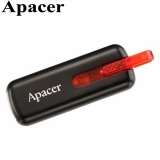 Флешка USB 32GB Apacer AH326 (USB 2.0, Black)