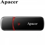 Флешка USB 32GB Apacer AH333 (USB 2.0, Black)