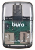 Карт-ридер Buro BU-CR-110 (USB 2.0, Black)