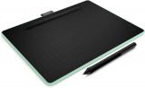 Графический планшет WACOM Intuos S CTL-6100WLE-N Bluetooth (264 x 200 x 8.8 mm, Green)