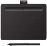 Графический планшет WACOM Intuos S CTL-4100WLE-N Bluetooth (200 x 160 x 8.8 mm, Green)